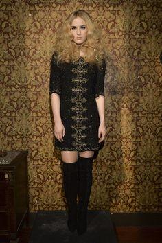 Alice + Olivia Fall 2014 Runway Show | New York Fashion Week | POPSUGAR Fashion