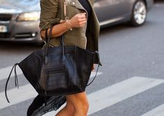 Black leather and army