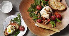 Burrata with Broccolini