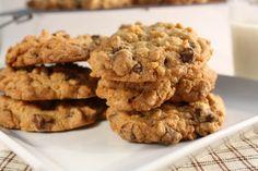 Chocolate chip oatmeal cookies  (#gf version too).