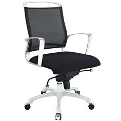 Strive Mid Back Office Chair in Black