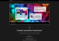 Create Beautiful Timelines