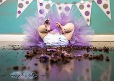 Better Pictures - Dont overlook the aftermath - Birthday Cake Smash Ideas Worth Stealing for Your Little One - Photos To anybody wanting to take better photographs today Baby Cake Smash, 1st Birthday Cake Smash, Girl First Birthday, Baby Birthday, Smash Cakes, Twin Birthday Cakes, Cake Smash Photography, Birthday Photography, 1st Birthday Pictures