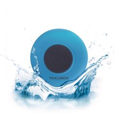 Tekubox Waterproof Bluetooth Shower Speaker Review and Giveaway