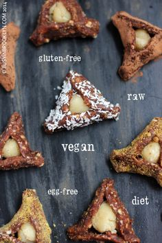Busy in Brooklyn » Blog Archive » Date & Almond Hamantaschen gluten free, dairy free, egg free, raw