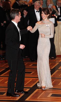 During a trip to New York, the Crown Prince was more than happy to share a dance…