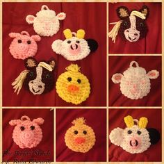 I have really enjoyed making all of the different types of SOFTIES!!! I now have completed the Woodland-themed, Zoo-themed, Christmas-th...