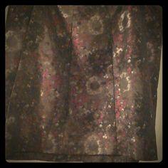 Skirt Polyester Ann Klein Skirts Midi