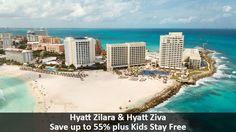 Hyatt Zilara & Hyatt Ziva - https://traveloni.com/vacation-deals/hyatt-zilara-hyatt-ziva/ #familyvacation #mexicovacation #caribbeanvacation #kidsfree #cancun #loscabos