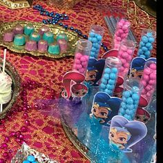 Shimmer and Shine Birthday Shimmer and Shine Party Favors Shimmer and Shine Cookies Oreos Chocolate Jewels Gemstone Oreos Gem Edible Jewels 5th Birthday, Birthday Party Themes, Reusable Ice Packs, Mini Oreo, Custom Chocolate, Bolo Fake, Shimmer N Shine, Etsy App, Princess Party