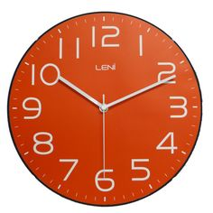 Dramatic style and practical design combine in the contemporary Classic Wall Clock, Red, from Leni. Red Wall Clock, Wall Clocks, Clock Movements, Bed Base, Contemporary Classic, Online Furniture Stores, Red Walls, Red Accents, Modern Wall