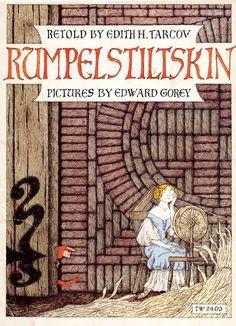 Rumpelstiltskin pictures by Edward Gorey.