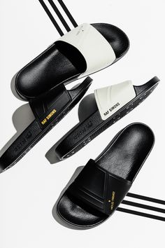 "Adidas x Raf Simons Adilette ""Bunny"" Collection  #Adidas #RafSimons #Adilette #Fashion #Streetwear #Style #Urban #Lookbook #Photography #Footwear #Sneakers #Kicks #Shoes"
