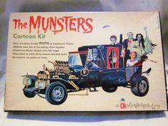 The Munsters Colorform kit  (1965)