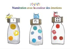 La couleur des émotions : atelier de numérations | MC en maternelle