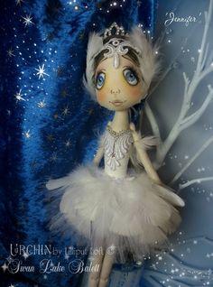 'Jennifer' Urchin Art Doll by Vicki @ Lilliput Loft