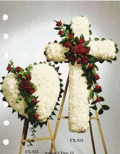 Resultado de imagen de flower arrangement for funeral