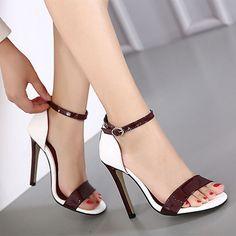 Hot High Heels, Platform High Heels, Womens High Heels, Beautiful High Heels, Mode Chic, Stiletto Shoes, Shoes Heels, Only Shoes, Open Toe Sandals