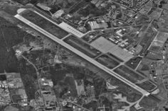 The runway at Bangor International