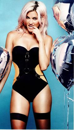 Picture of Ashley Roberts Kimberly Wyatt, Celebrities In Stockings, Ashley Roberts, Live Girls, Black Lingerie, Gorgeous Women, Celebs, One Piece, Celebrity