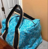 Sewing : My Travel Duffel Muslin-LOL!!