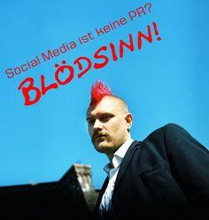 Blödsinn von Sascha Lobo - #SocialMedia ist #PR