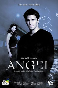 "Angel tv show - One of the first TV Vampire Series - besides ""Dark Shadows"""