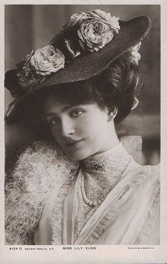 The lovely Edwardian era actress, Lily Elsie
