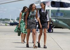 Sasha (L) and Malia Obama, the daughters of U.S. President Barack Obama and U.S. First Lady Michelle Obama walk to Air Force One at Joint Base Andrews, Maryland, U.S., June 17, 2016. REUTERS/Joshua Roberts TPX IMAGES OF THE DAY via @AOL_Lifestyle Read more: https://www.aol.com/article/news/2017/01/09/let-s-move-a-lasting-legacy-for-michelle-obama/21650415/?a_dgi=aolshare_pinterest#fullscreen