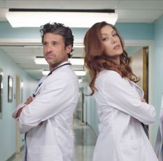 Derek and Addison are back