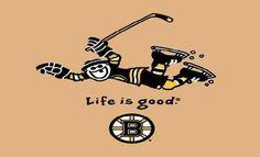 NHL Life is Good Boston Bruins