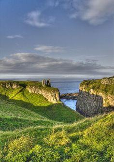 Dunseverick Castle - Northern Ireland.