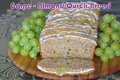 Within the Kitchen: Daring Bakers - Grape-Almond quick bread