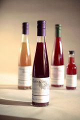Sage and Sea Farms sipping vinegars, Portland, Oregon. A 2014 Martha Stewart American-Made Finalist. (O / USA)