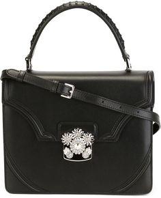 Alexander McQueen 'Flower' satchel