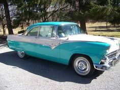1955 Ford Fairline Victoria (OH) - $28,000 Please call Dave @ 419-347-1474 to see this car.