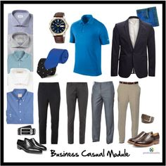business casual module: men by professionality on Polyvore featuring Simon Carter, SELECTED, Linea Naturale, Burberry, Brooks Brothers, Paul Smith, Brioni, Canali, Seiko and Grenson