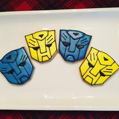Optimus Prime cookies