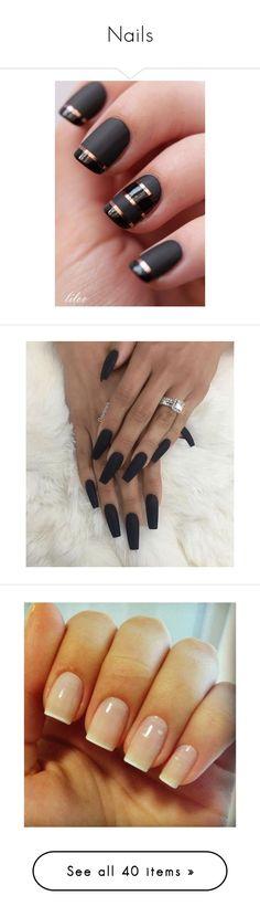 """""""Nails"""" by mel-grey-lannister ❤ liked on Polyvore featuring beauty products, nail care, nail polish, nails, makeup, beauty, shiny nail polish, sticker nail polish, nail treatments and filler"""