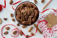 Karamelliserte pekannøtter med julekrydder