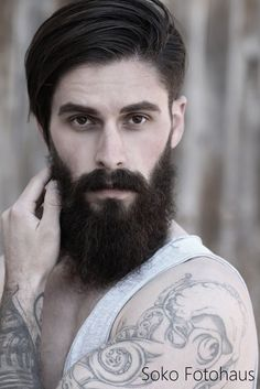 Jesee showing his well cultivated #beard some love  #pognophile #beardedmen #hair #salon #sokofotohaus