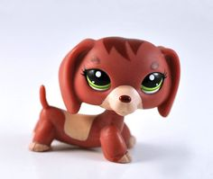 Rare Littlest Pet Shop Dog Collection Child Girl Figure Cute Toy Loose LPS679