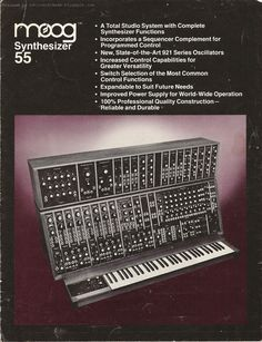 Moog Synthesizer 55
