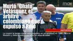 "Murió ""Chato"" Velásquez, el árbitro colombiano que expulsó a #Pelé"