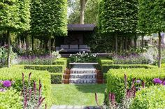 English cottage garden small garden ideas Designer: Charlie Albone Chelsea Flower Show 2016 ~ Great pin! For Oahu architectural design visit http://ownerbuiltdesign.com
