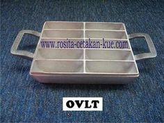 CETAKAN KUE PUKIS/PANCONG » Pukis Oval Tebal • www.rosita-cetakan-kue.com