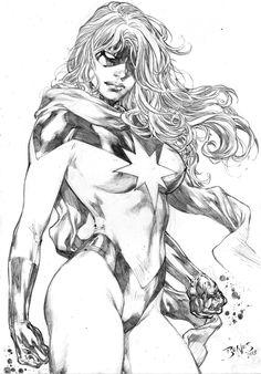 Miss Marvel by Ed-Benes-Studio.deviantart.com on @deviantART