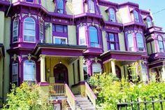 Cabbagetown Colourful Facade Homes