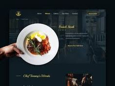 restaurant web ui design - Google Penelusuran Restaurant Web, Web Ui Design, Google, Food, Meals, Yemek, Eten