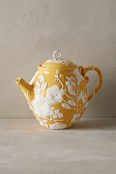 Petal Vines Teapot #anthropologie